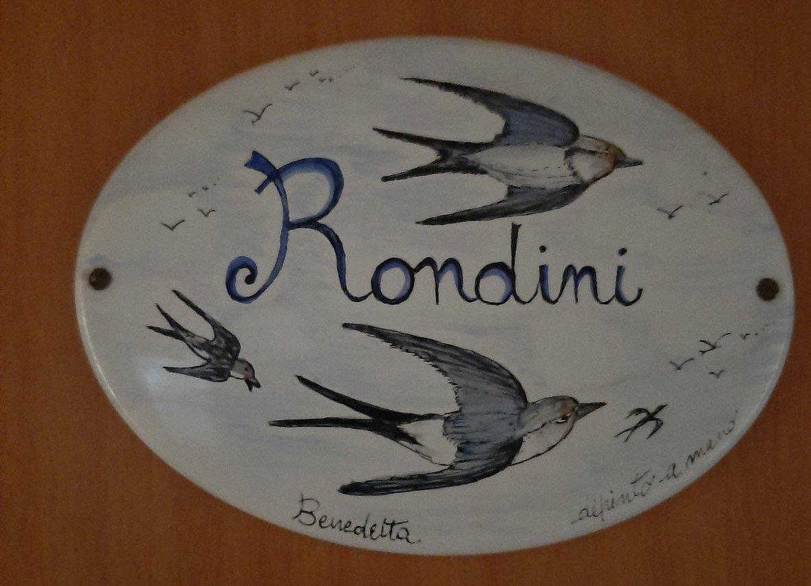 camera delle Rondini